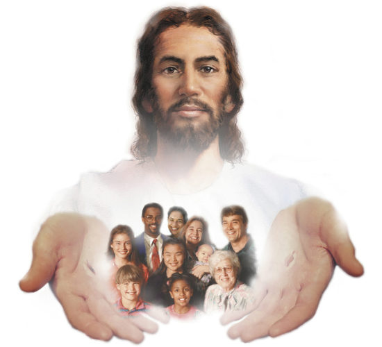 People in Christ Hands