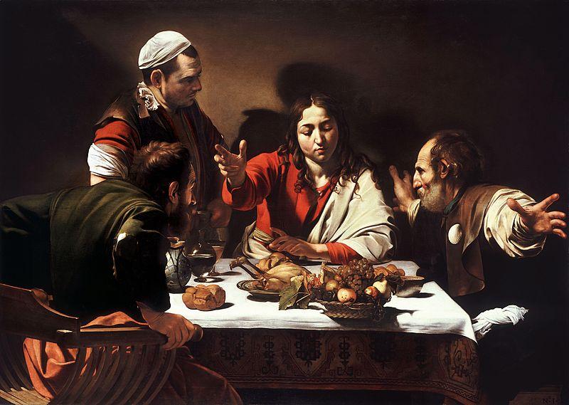 Emmaus-Caravaggio_(1601)