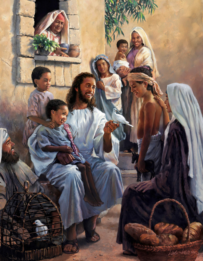 Jesus with Kids